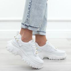 Białe adidasy damskie...
